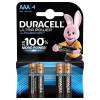 DURACELL LR03-4BL Ultra Power (4 шт. в уп-ке)