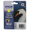 EPSON C13T11144A10/C13T08144A10  Epson картридж для St.Ph. R270/R390/RX590 (желтый) (cons ink)
