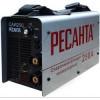 Ресанта САИ 250 65/6 Сварочный аппарат инверторный [65/6] {154В-242В, макс.7,7кВт, 10А-250А, ПВ 70%, напр. холостого хода 80В, напр. 29В, макс. диаметр электрода 6,мм, 5 кг} 4606059015659