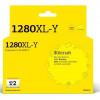 T2  LC-1280XLY Картридж струйный для Brother MFC-J5910DW/J6510DW/J6710DW/J6910DW, желтый