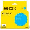 T2  LC-3619XLC Тонер-картридж для   Brother MFC-J3530DW/J3930DW, голубой, с чипом, 1500к