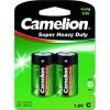 Camelion  R14  BL-2 (R14P-BP2G, батарейка,1.5В)  (2 шт. в уп-ке)
