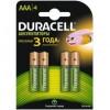 DURACELL AAA750mAh/4BL Аккумулятор Recharge