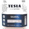 Tesla SILVER AAA+4ks Alkaline baterie AAA (LR03, микропальчиковая, блистер) блистер /4 шт)