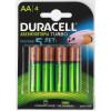 Duracell (TURBO) HR6-4BL 2400mAh/2500mAh (AA2500mAh/4BL) предзаряженные (4/40/15000) (4 шт. в уп-ке)