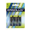 Ergolux..LR14 Alkaline BL-2 (LR14 BL-2, батарейка,1.5В)  (2 шт. в уп-ке)