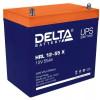 Delta HRL 12-55 X (55 А\ч, 12В) свинцово- кислотный  аккумулятор