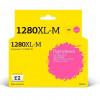 T2  LC-1280XLM Картридж струйный для Brother MFC-J5910DW/J6510DW/J6710DW/J6910DW, пурпурный