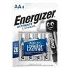 Energizer Ultimate Lithium AA FSB4 (4 шт. в уп-ке)