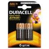 DURACELL LR03-6BL BASIC (6/60/33840) (6 шт. в уп-ке)