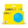 T2  LC-1280XLC Картридж струйный для Brother MFC-J5910DW/J6510DW/J6710DW/J6910DW, голубой