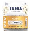 Tesla GOLD AA+ 4ks GOLD Alkaline baterie AA (LR06, пальчиковая, блистер/4 шт)